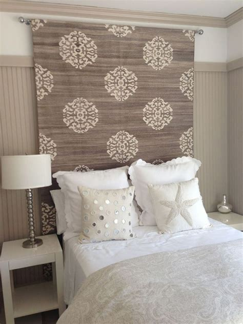 Ideas For Headboards by Rug Heavy Fabric Headboard Ideas