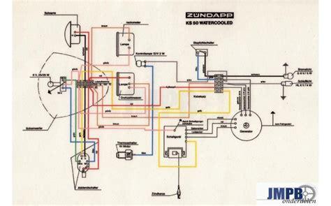 wiring harness zundapp ks lc jmpb parts