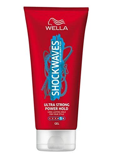 styling gel ultra strong wella shockwaves styling gel ultra strong power hold 200ml