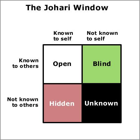 for what it s worth self awareness and johari s window