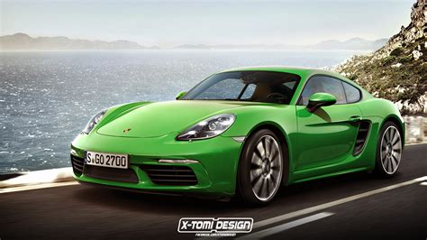 Porsche Of by Porsche 718 Cayman Rendering Is As As The Actual Car