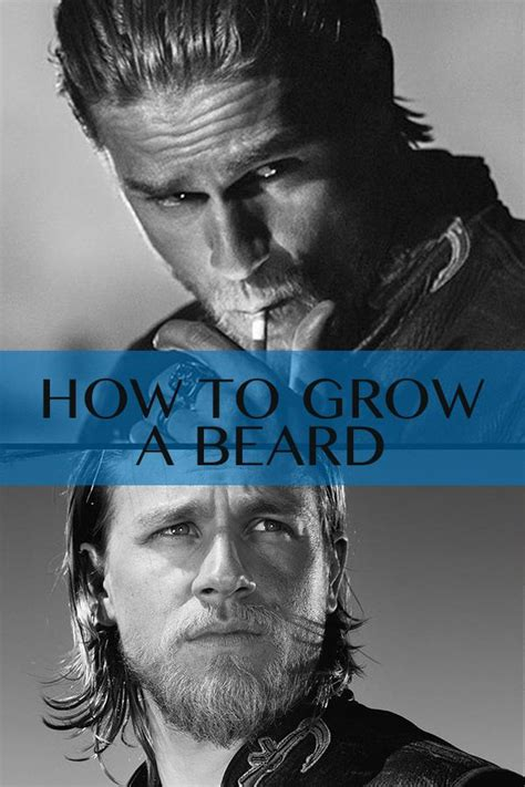 how to grow your hair like jax how to care for your beard epic beards pinterest men