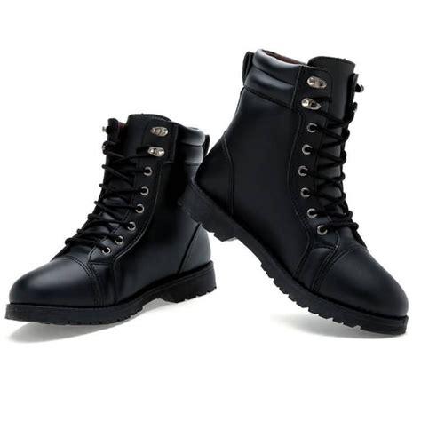 Boot Kulit sepatu boot kulit pria