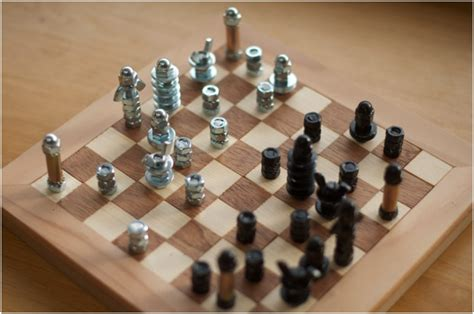top  unusual diy chess sets top inspired