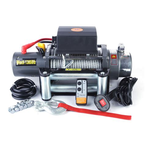 Winch On A Jeep China Truck Winches 4x4 Winches Power Winches Supplier
