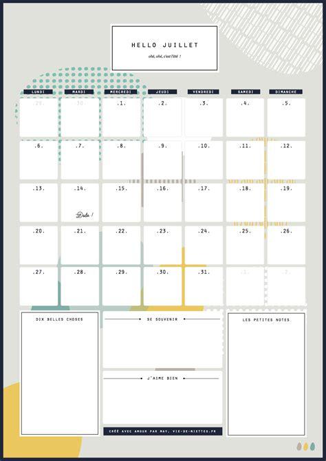 Calendrier à Imprimer Juillet 2015 Calendriers Mensuels Juillet 2015 224 Imprimer Gratuit