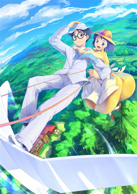 download film animasi ghibli kaze tachinu the wind rises zerochan anime image board