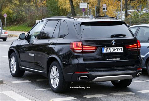 bmw x5 edrive in hybrid spied automobile magazine