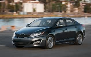 Used Kia Optima Sx 2011 Kia Optima Sx Front Three Quarter In Motion Photo 15