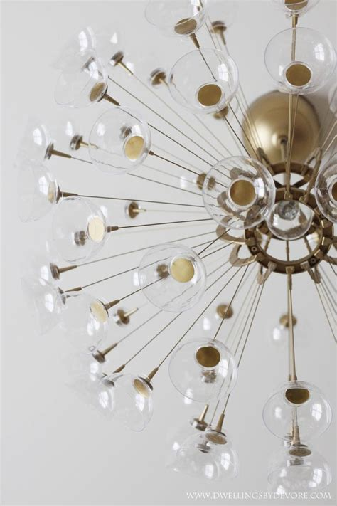 diy sputnik chandelier created by bethany of dwellings by