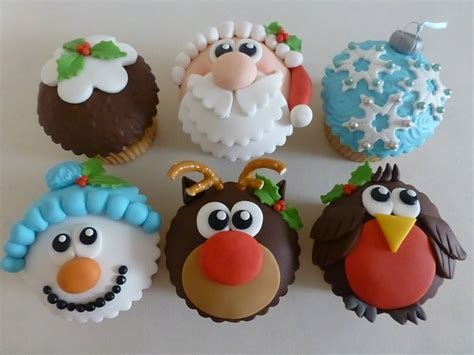 11 cute christmas cupcakes the purple pumpkin blog