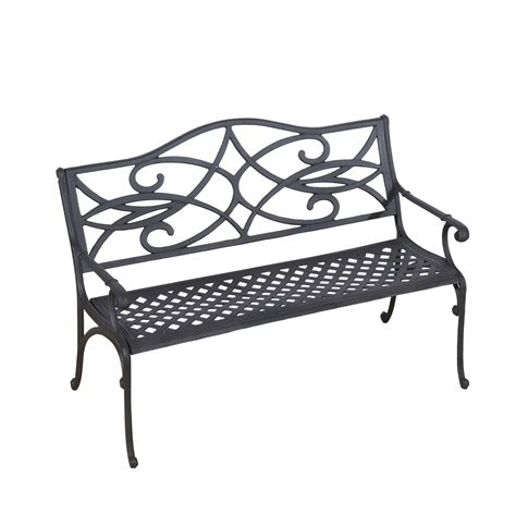 ornate garden bench outsunny 49 quot decorative outdoor garden bench buy both and get 10 off clearance