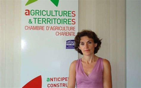 chambre d agriculture de la charente charente la directrice de la chambre d agriculture sur le