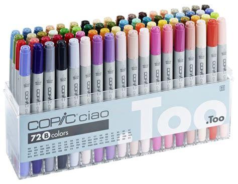 Copic Ciao Set 72 A By Polkapolca copic markers 72 pen set b copic shop