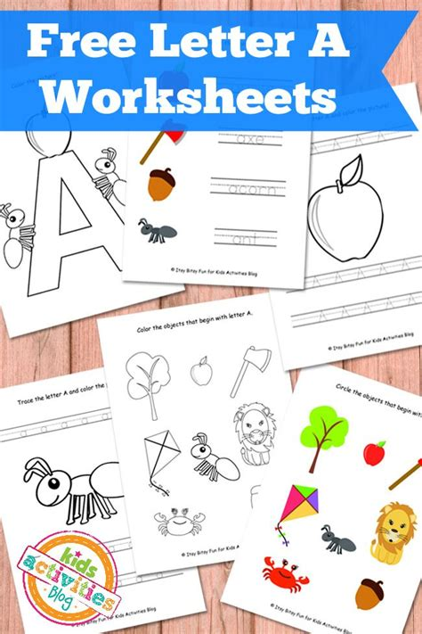 printable for kids letter a worksheets free kids printables
