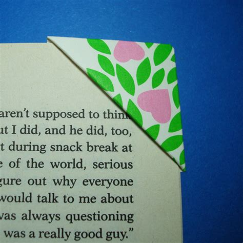 Easy Origami Bookmarks - hollyrocks easy origami bookmarks