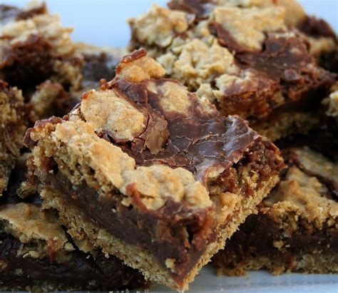 oatmeal bars with chocolate topping one more moore killer bars