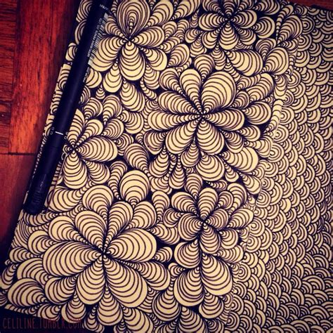 doodle awesome zen tangles doodles picmia