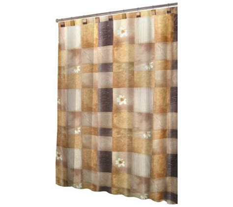 tuscan shower curtain tuscan sunset shower curtain and hook by splash qvc com