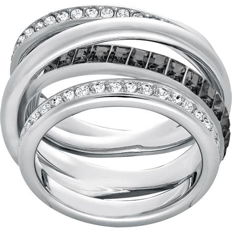 bijoux femme swarovski bague swarovski 5221437 bague spirale cristal femme sur bijourama r 233 f 233 rence des bijoux femme