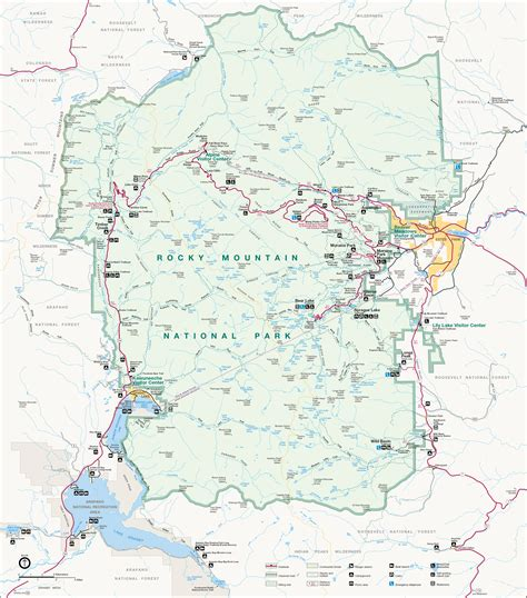 rocky mountain national park map file map of rocky mountain national park png