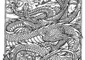 complex coloring pages of dragons complex coloring pages coloring4free com