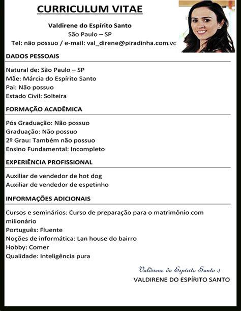 Modelo Curriculum Vitae Word 2016 Modelos De Curr 237 Culos Prontos 2016 Curriculum Vitae Empregos Araraquara E Regi 227 O