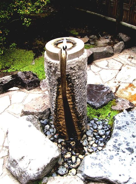 backyard water fountains backyard design ideas