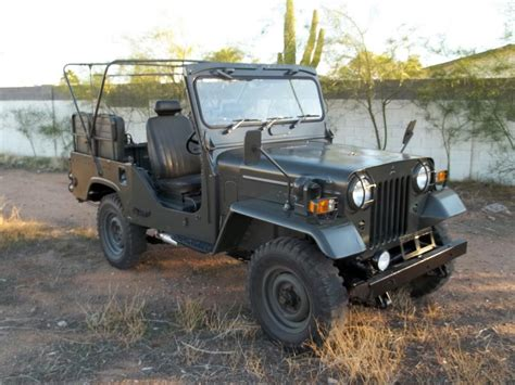 1968 MITSUBISHI MILITARY JEEP   117172