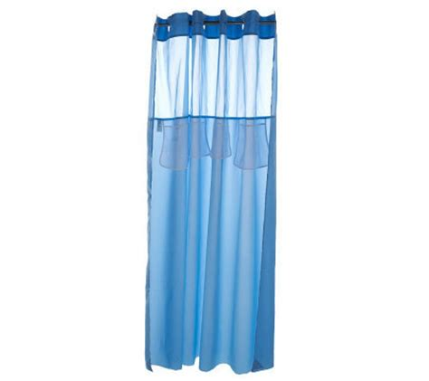 hookless mystery shower curtain hookless mystery shower curtain with storage pockets