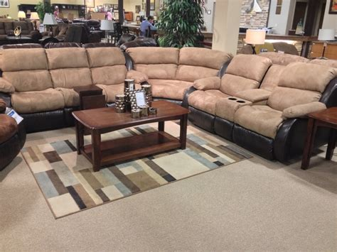 presley sectional presley cocoa 3 piece sectional sofa at your ashley