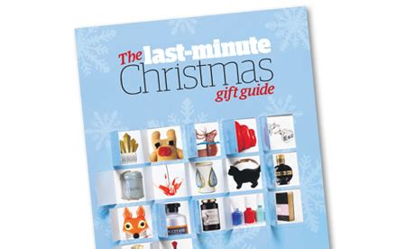 the guardian last minute christmas gift guide life and