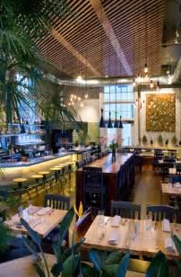 contemporary restaurant architecture design plant cafe