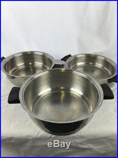 Rena Set 12 rena ware 3 ply 18 8 cookware set stainless steel