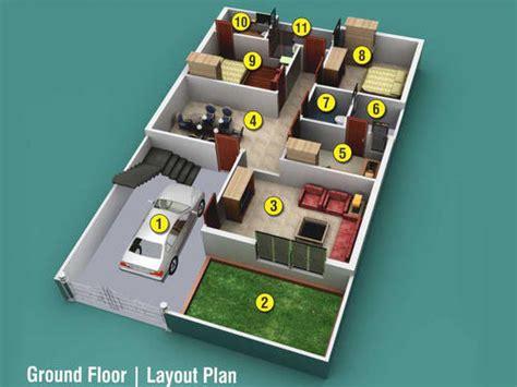 Bedroom Interior In India Ground Floor Layout Plan 2 In Gwalior Id 7283797012
