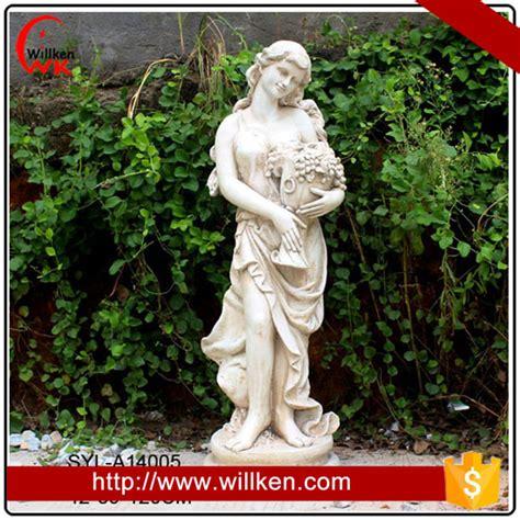 large outdoor garden decorative female figure sculpture