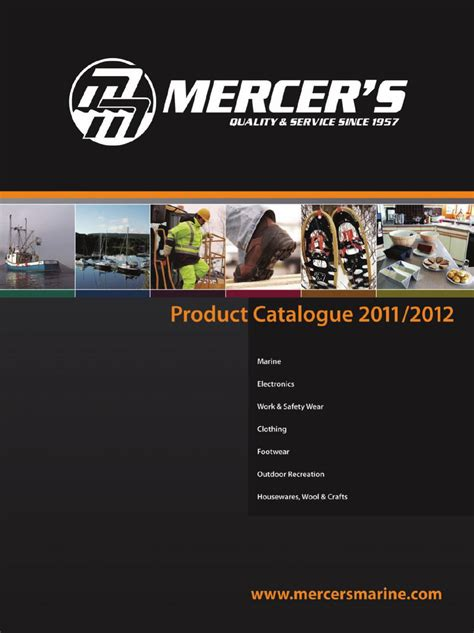 Mercers Marine Outdoor 2011 2012 Product Catalogue By | mercer s marine outdoor 2011 2012 product catalogue by