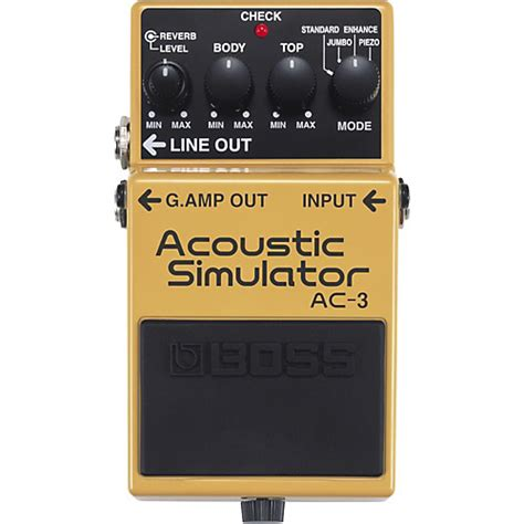 Acoustic Simulator Ac 3 Bekas ac 3 acoustic simulator musician s friend