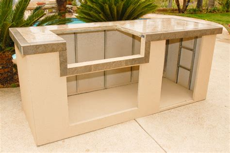 Diy Build Kitchen Cabinets by Outdoor Kitchen And Bbq Island Kit Photo Gallery Oxbox