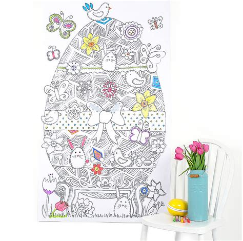 posters for easter personalised colour in easter poster by so