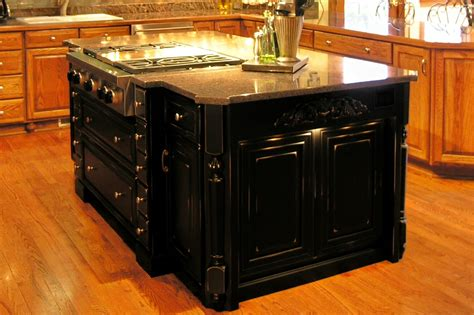 Black Kitchen Island by Black Kitchen Island Rmd Designs Llc
