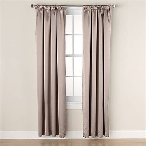 95 inch curtain rod buy linnea 95 inch rod pocket back tab room darkening