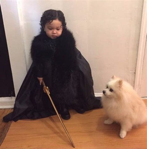 ghost actor game of thrones little jon snow and ghost game of thrones cosplay aww
