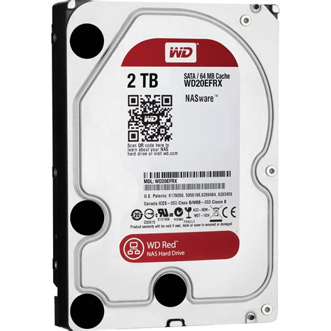 Harddisk Wd 2tb wd 2tb wd sata 3 5 quot nas oem drive wd20efrx b h