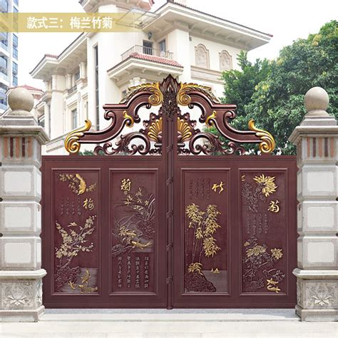security gate double door iron gate design pictures