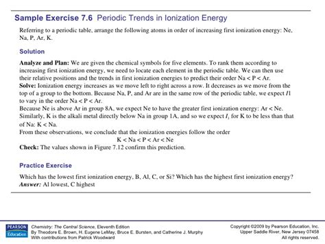 section 6 3 periodic trends study guide answers chapter 6 periodic trends practice worksheets tutsstar