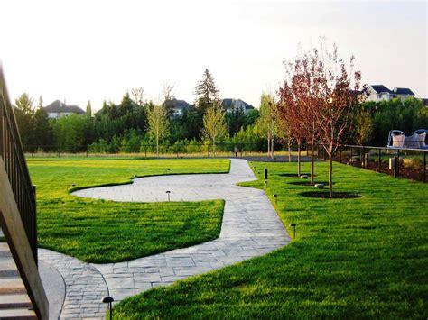 Complete Landscape On City Acreage Morgan K Landscapes Landscape Lighting Ideas For Decks