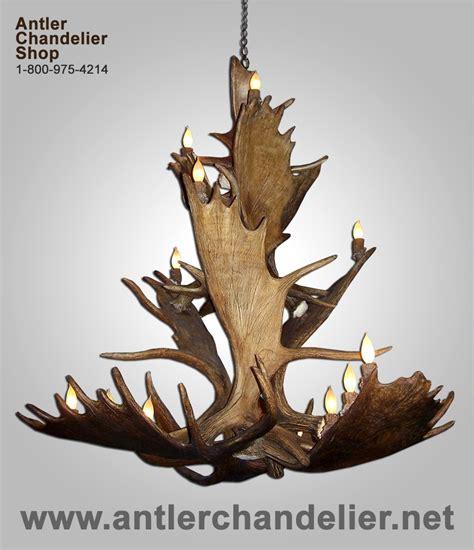 moose antler chandelier large antler chandeliers antler chandelier