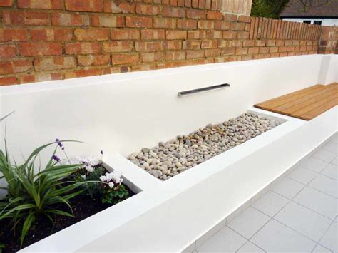 modern water features modern garden design garden design london