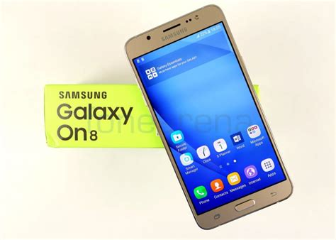 samsung review samsung galaxy on8 review